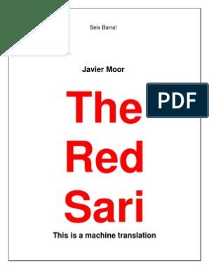 The Red Sari | Jawaharlal Nehru | Mahatma Gandhi