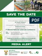 Landcare Conference Media Alert