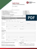 CT-03 Employment Details Form 11i