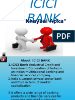 Presentation on Icici Bank