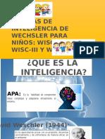 Escala de Wescher de Intelgencia.pptx