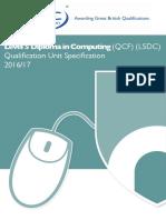 Pd_qus_09 l5dc Qualification Unit Specification v1.5