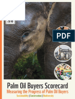 WWF Palm Oil Scorecard 2016