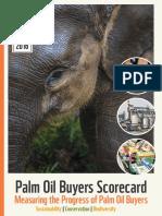 WWF Palm Oil Scorecard 2016