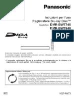 Panasonic Bwt640 745ec Ita