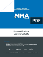 Push Notification Mma France Guideline