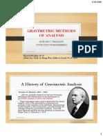4-Gravimetric Methods of Analysis Ann 2016 Version 1