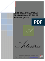 Proposal Seragam Atk 2015