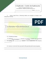 A.1 Teste Diagnóstico Ambiente Natural e Primeiros Povos 2