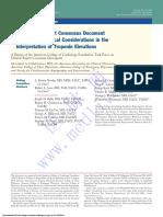 2012ACCF+解释临床实践中肌钙蛋白水平升高原因专家共识