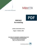 Syllabus GM3 MM5002 Accounting