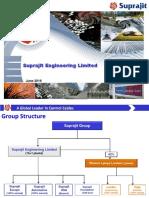 Suprajit Engg - InvPr (June 2016)