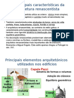 As Principais Características Da Arquitetura Renascentista