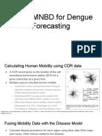 Use of MNBD for Dengue Forecasting