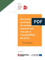 Diccionari Competencies Transversals ECAS1