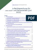 Anuschek, Seel, Aktuelle Rsp für Betriebsräte 2010-06