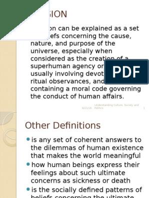 UCSP Religion | Polytheism | Monotheism