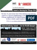 ENHANCED INDEXING EVENT - CHICAGO - June 14 - Updated Agenda