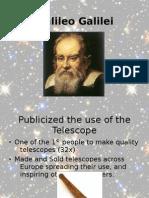 Jack Oughton - Galileo.. in Brief