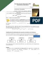 1. Guía polinomios