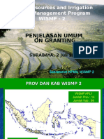 Paparan Penjelasan Umum on Granting Semarang 12 Jun 2012