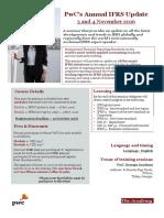 PwC Seminar on IFRS Update