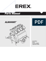 Terex Parts Manual AL8000HT