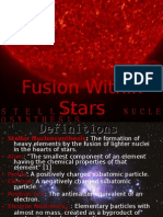 Jack Oughton - Fusion Within Stars / Stellar Nucleosynthesis