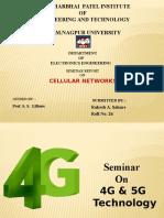 Celluler Networks