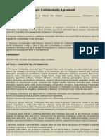 SAMPLE NDA AGREEMENT  (3).doc