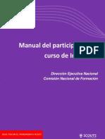 Manual Del Participante de Curso de Inducción 2016