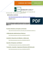 cursos uned LISTADO PARA PROFES