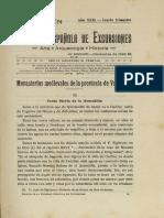 ANTON Monasterios Medievales de La Provincia de Valladolid