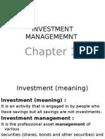 Investment Mangement Ppt
