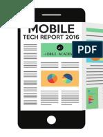 Mobile Tech Report 2016