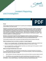 Incident Accident Proc Oct 12
