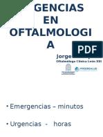 Urgencias en Oftalmologia Ips
