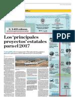 Los Principales Proyectos Estatales Para El 2017