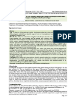 Isolation, Identification, and In Vitro Antifungal Susceptibility Testing of Dermatophytes from Clinical Samples at Sohag University Hospital in Egypt
