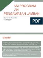 EVALUASI PROGRAM CAKUPAN PENGAWASAN JAMBAN.pptx