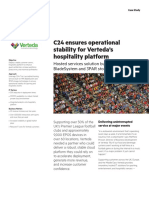 Verteda, C24 and HPE Case Study
