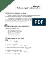 Module 3 Rational Alg Exp