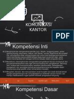 PPT komunikasi kantor
