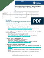 MII-U2- Actividad 1. Expresión Verbal y Simbólica de Las Variables Relacionadas Con La Calorimetría y El Cambio de Fase.