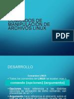 Manejo de Archivos Linux