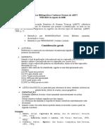 Referências Bibliográficas Conforme Normas Da ABNT