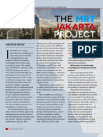 The MRT Jakarta Project