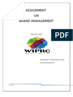 Brand Knowledge of Wipro Company