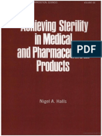 Achieving Sterility in Medical and Pharmaceutical Products