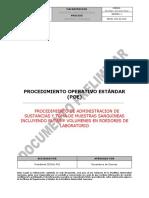 Procedimiento de Administracion de Sustancias y Toma de Mues Pag 6